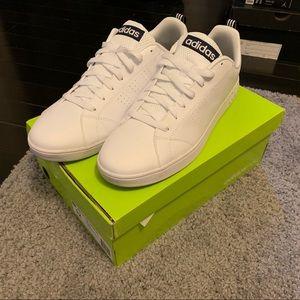 adidas neo - Adv. Clean VS - White/navy